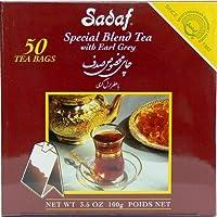 Sadaf Special Blend Tea EG, 50-Count (Pack of 4)