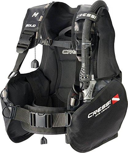 Cressi Solid Dive Center Edition Tauchjackets Gute Tarierung, Schwarz, XS