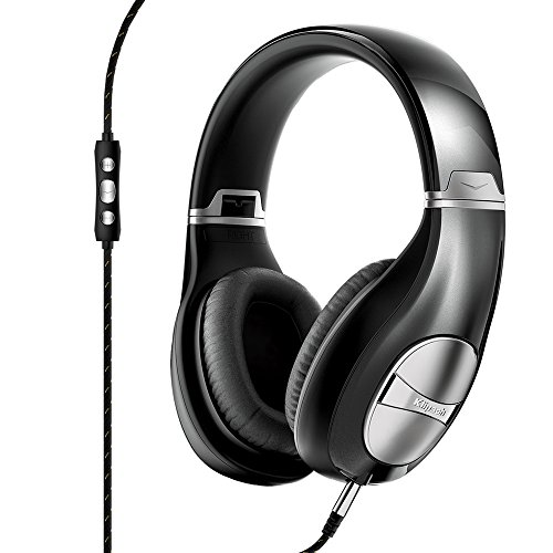 Klipsch Status On Ear Headphones with mic and 3-button control - Black  available at amazon for Rs.22900