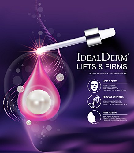Lifting & Firming Serum mit 20% Wirkstoffe: DMAE + Vitamin C + Retinol + Organischen Siliziums + Hyaluronsäure + ... 83,17eu/100ml (Verjüngende Effekte)