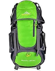 Vbiger 55L Leicht Wasserdicht Trekkingrucksack Wanderrucksack Taktische Rucksack Trekkingrucksäcke für Reisen Wandern und Bergsteigen