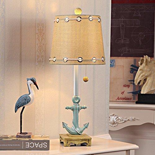 Global-Mittelmeer-Tischlampe / Kindertischlampe / Schlafzimmer Nachttischlampe / Wohnzimmertischlampe