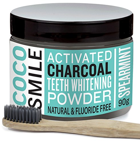 cocosmile-activated-charcoal-teeth-whitening-powder-with-charcoal-toothbrush-90g
