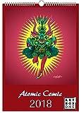 artboxONE Kalender 2018 Atomic Comic von Gustaffo Wandkalender A3 Comic