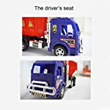 Ponny Tipper Truck Toy Eco Friendly Recycled Plastic Building & Constructions Toys Dumper Cars 3 Colors (Red)