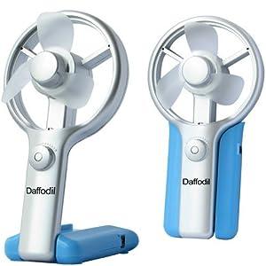 Daffodil UFN01 Ventilateur USB avec variateur de vitesse - Alimentation par USB ou piles