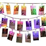 Best En Mostrar Cadenas - Cadena de Luces LED Foto Clips,KINGCOO Funciona con Review