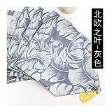 JUNYZZQ Chemin De Table Dining Modern Minimalist Nordic Geometric Coffee Japanese American Meal Flag Bed Flag Bed Towel Bunting 30X210Cm