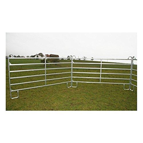 Kerbl Panel – Zaunelement 3,6 m mit Schnell-Kettenverschluss - 4