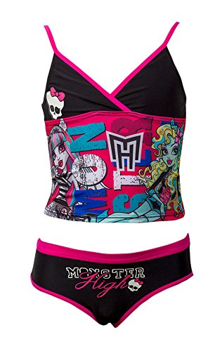 Image of Official Monster High Girls Swimming Costume Swimwear Age 6-12 Years