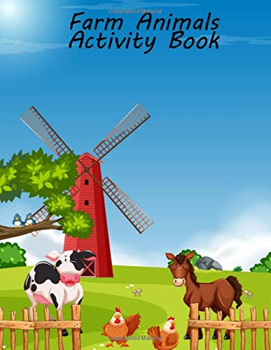 Zoom IMG-2 farm animals activity book fun
