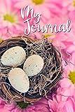My Journal (Bird nest): Lined Journal for Women, girls, teens, and bird lovers   Lightly lined pages   Bird nest theme d