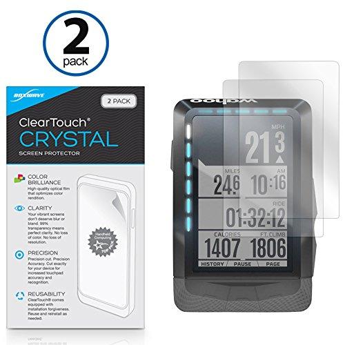 Boxwave Cleartouch Screen Protector (Wahoo elemnt Displayschutzfolie, BoxWave® [ClearTouch Crystal] HD Film Haut-Shields vor Kratzern für WAHOO elemnt)