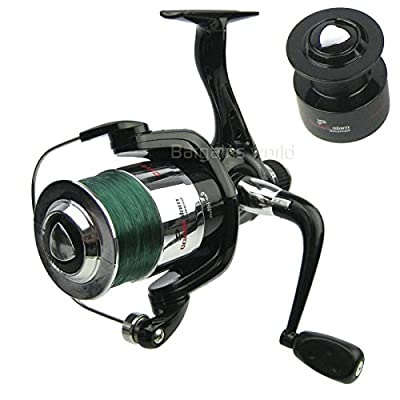 "Grandeslam ""Carbo Strike"" 60R Advanced Coarse Specimen / Light Sea Fishing Reel with Spare Spool by Grandeslam"