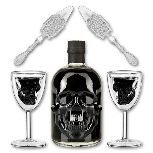 Black Head Absinthe + 2x Totenkopfglas