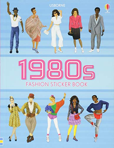 1980s Fashion Sticker Book (Sticker Books)