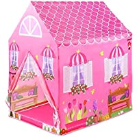 FIONA® Jumbo Size Extremely Light Weight , Water Proof Kids Play Tent House for 10 Year Old Girls and Boys (Doll House…