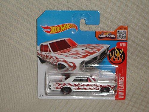 hot-wheels-65-pontiac-gto-hw-flames-9-10-white-short-card-99-250