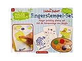 The Friendly Seven Fingerstempel-Set Die Lieben Sieben