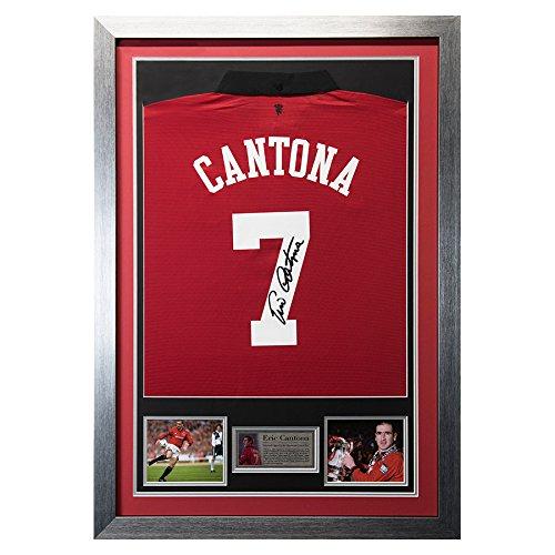 Eric Cantona Signed Man Utd Shirt – Theatre of Dreams – COA