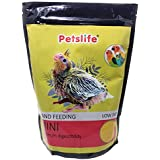 Foodie Puppies Petslife Special Hand Feeding Formula Bird Food with Low Fat & Maximum Digestibility (Low Fat 1 Kg)