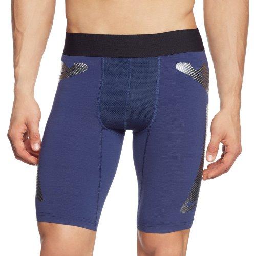 Nike Kinder Kurze Hose Pro Combat Hyperstrong Slider Trikot, White/Cool Grey, XS (Nike Pro Combat Hose)