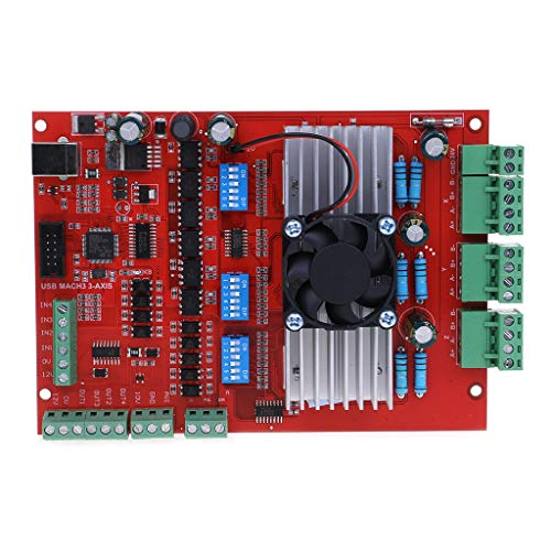 100 Khz Breakout Board 3 Achsen Interface Driver Motion Controller ()
