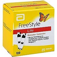 Freestyle Lite Teststreifen ohne Codieren 100 stk preisvergleich bei billige-tabletten.eu