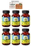 "Organic India Flexibility - 60 Veg Capsules - Pack of 6 - ""DHL"
