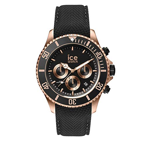 Ice-Watch Homme Chronographe Quartz Montre avec Bracelet en Silicone 016305