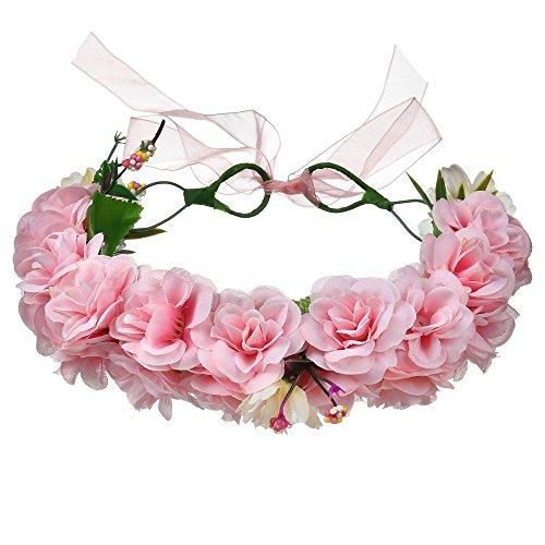 AdorabFitting Girlande garland girlande guder kranz gudelj grunwald Rose Simulation Daisy Blüte Kopf Meer Urlaub