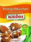 Kotanyi Honiglebkuchen Gewürzmischung, 5er Pack (5 x 31 g)