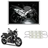 #6: Vheelocityin 9 LED Custom Cuttable Bike/ Car White Light for Interior/ Exterior For Dominar