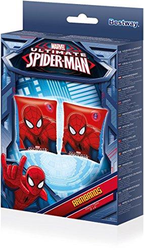 Bestway-98001-Braccioli-Spider-Man-Dimensione-23-x-15-cm-Rosso