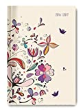 Collegetimer Pocket Flower Art 2016/2017 - Schülerkalender A6 - Weekly - 224 Seiten