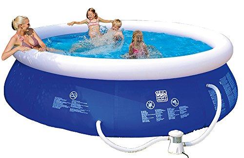 Happy People 77772 Quick Up Pool, blau