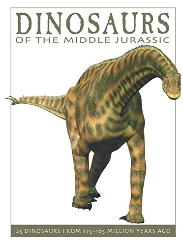 Dinosaurs of the Middle Jurassic: 25 Dinosaurs from 175-165 Million Years Ago