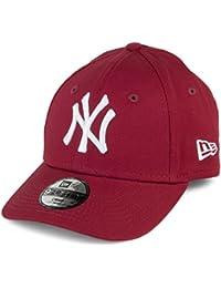 New Era Casquette Enfant 9FORTY League Essential New York Yankees Cardinal 9d63b6bebf2c