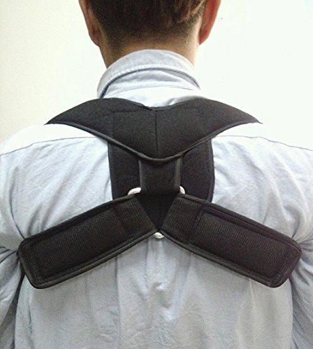 Haltung Korrektoren, risingmed Körperhaltung Korrektur Kyphose thoracica Schulter Rückseite Taille Unterstützung Bandage für Herren oder Frauen Hals und Brustkorb Schmerzlinderung