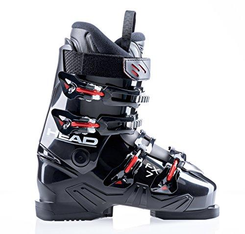 Head fx 7 scarponi da sci da uomo (nero-rosso) collezione 2015 - nero- rosso, 26.5 (41)
