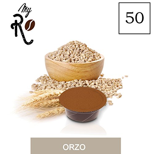 FRHOME - A Modo Mio 50 capsule compatibili - Orzo - MyRistretto