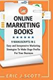 Online Marketing Books: 9 Manuscripts in 1, Easy and Inexpensive Marketing Strategies To Make Huge Profits For Your Business