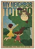 Instabuy Poster My Neighbor Totoro (Mein Nachbar Totoro) - Theaterplakat- A3 (42x30 cm)