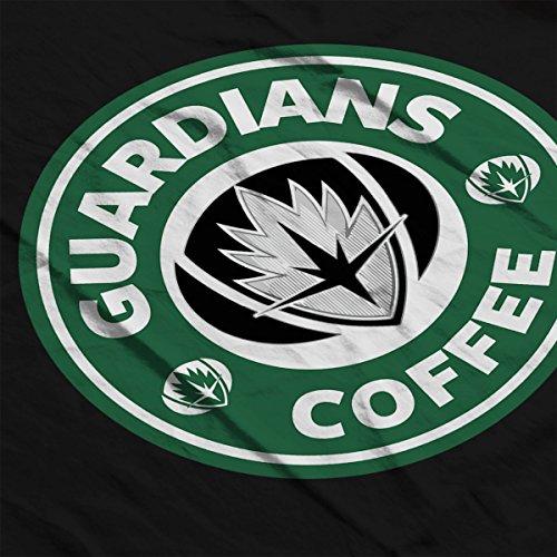 Guardians Of The Galaxy Guardians Coffee Starbucks Women's T-Shirt Black