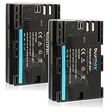 Blumax 2X LP-E6N Akku kompatibel mit Canon EOS-R, EOS R, 60D, EOS 70D, EOS 80D, EOS 6D, EOS 60D, EOS 70D, EOS 5D Mark III 2000mAh 7,2V 14,4Wh