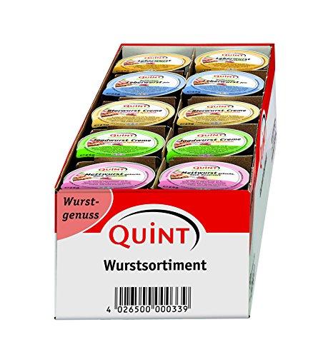 Quint Vitaness Mischkarton Klassischer Wurstgenuss, 1er Pack (1 x 1250 g)