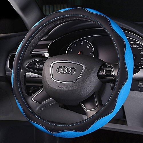 y-b-automotive-couvre-volant-en-cuir-avec-38-cm-381-cm-diametre-bleu-bleu