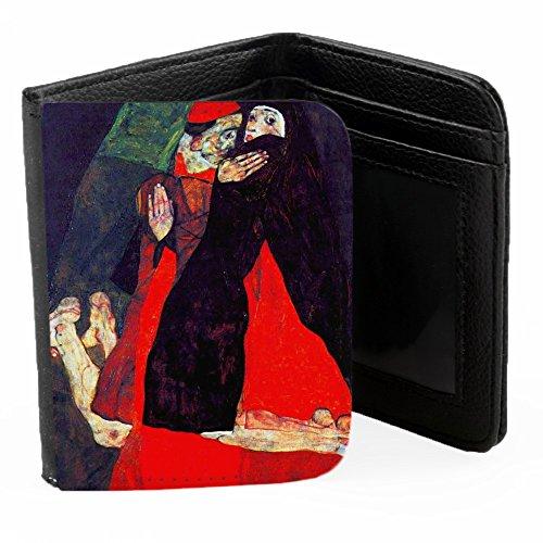 schiele-cardinal-and-nun-the-caress-schwarz-pu-brieftasche-geldborse-kreditkarte-holder-ripper-porte