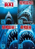 DER WEISSE HAI Complete Collection 1 2 3 4 - JAWS QUADRILOGY
