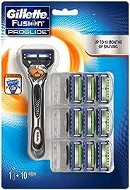 Gillette Fusion ProGlide Men's Razor & 9 Blades Refills